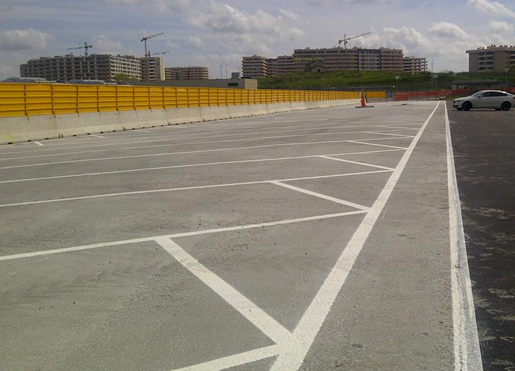 riqualificazione piazzale deposito autobus ATAC ROMA